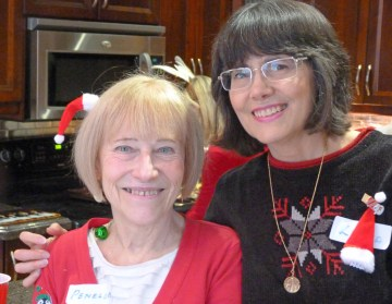 Two genuine smiles - thanks ladies