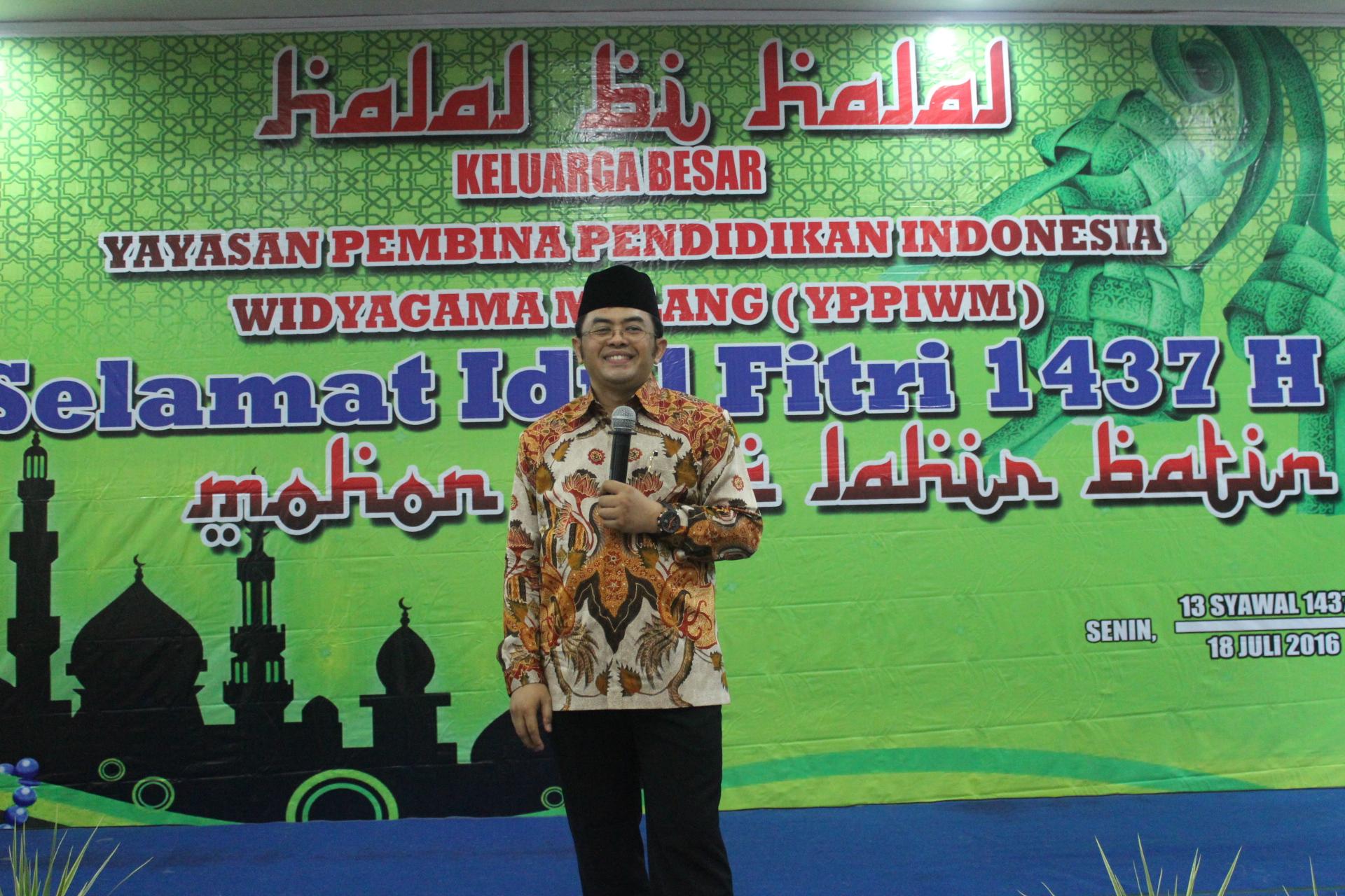 Halal Bihalal Keluarga Besar Yppi Widyagama Malang Universitas