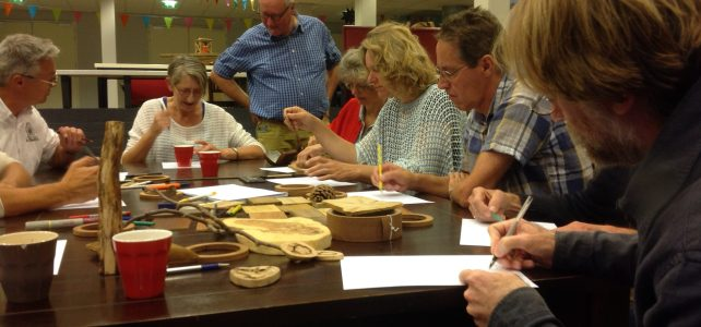Workshop in de Schuilplaats, Ede