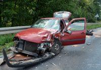 Wypadek na DK25 trasa Sępólno-Przepałkowo – wyznaczono objazd