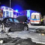 Zderzenie trzech samochodów osobowych. Siedem osób poszkodowanych w tym troje dzieci