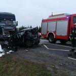 Wypadek na DK25 – Sępólno – Płocicz