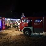 Płocicz: Pożar sadzy w przewodzie kominowym