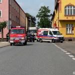 Trzy osoby, w tym 1,5 roczne dziecko poszkodowane w wypadku na DK25 w Kamieniu Krajeńskim
