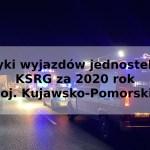 Statystyki wyjazdów jednostek OSP w KSRG za 2020 rok