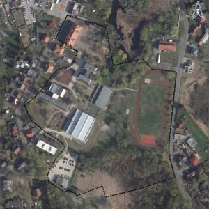 Luftbild Schulcampus Kloster Lehnin, 14797 Kloster Lehnin, © GeoBasis-DE/LGB 2021, dl-de/by-2-0