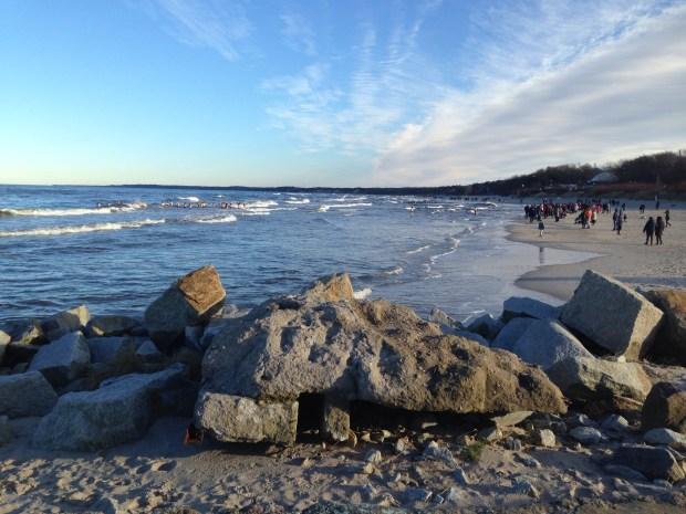 TRUP NA PLAŻY - Ustecka plaża