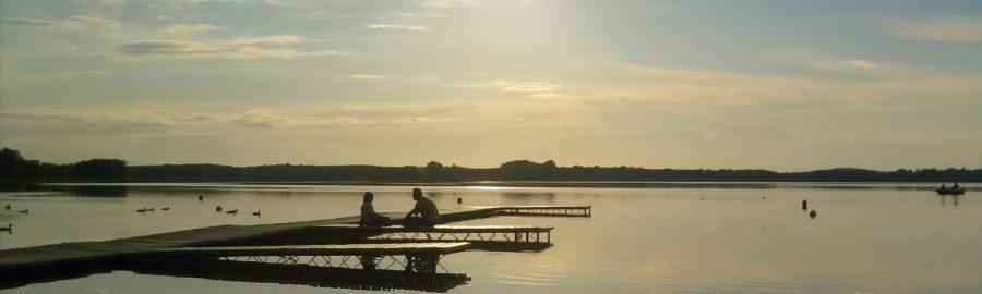 Jezioro Szarcz w Pszczewskim Parku Krajobrazowym