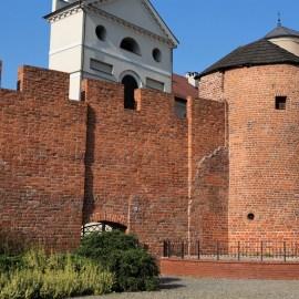 Baszta Dorotka w Kaliszu wraz z fragmentem murów miejskich