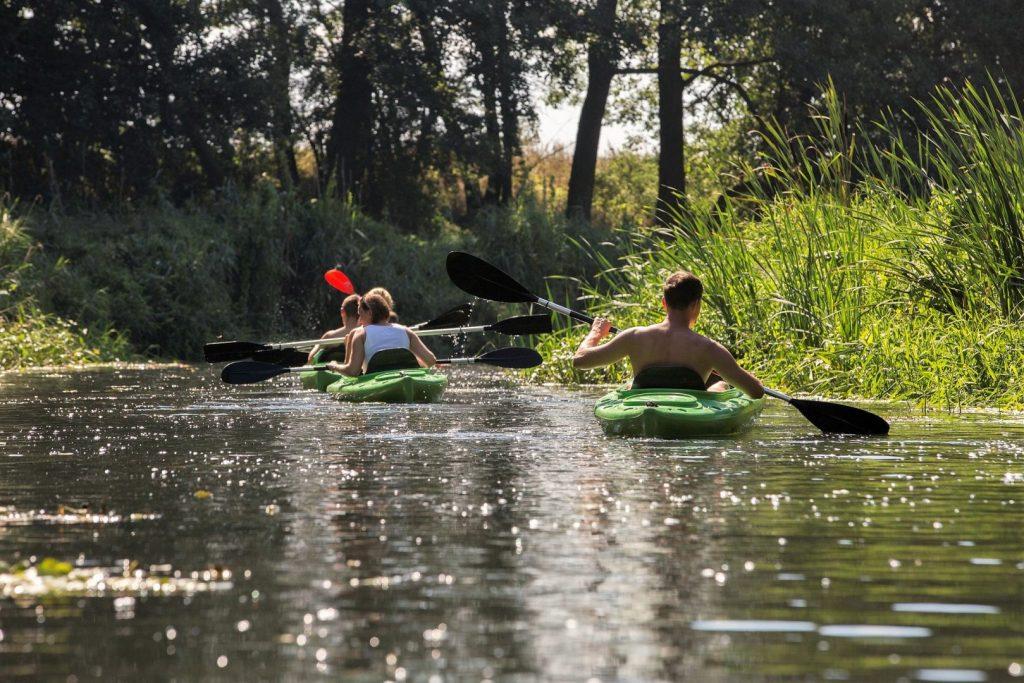 Spływ kajakowy na Wełnie