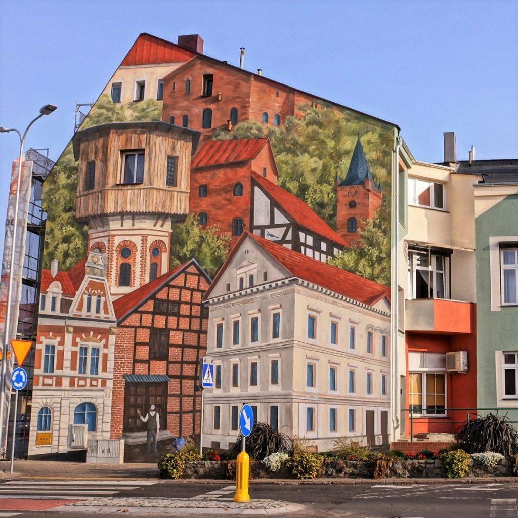Mural w Czarnkowie