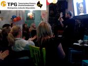 Wieczór z językiem migowym w Tandem Pub w Poznaniu. Vol. 5, listopad 2015