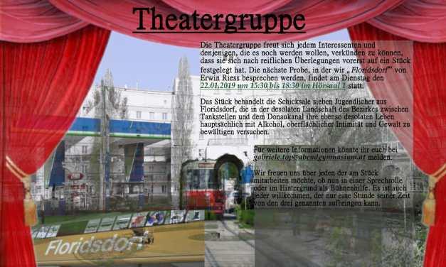 Theatergruppe sucht Mitspieler/innen