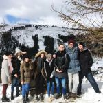 Grüße aus dem verschneiten Irland