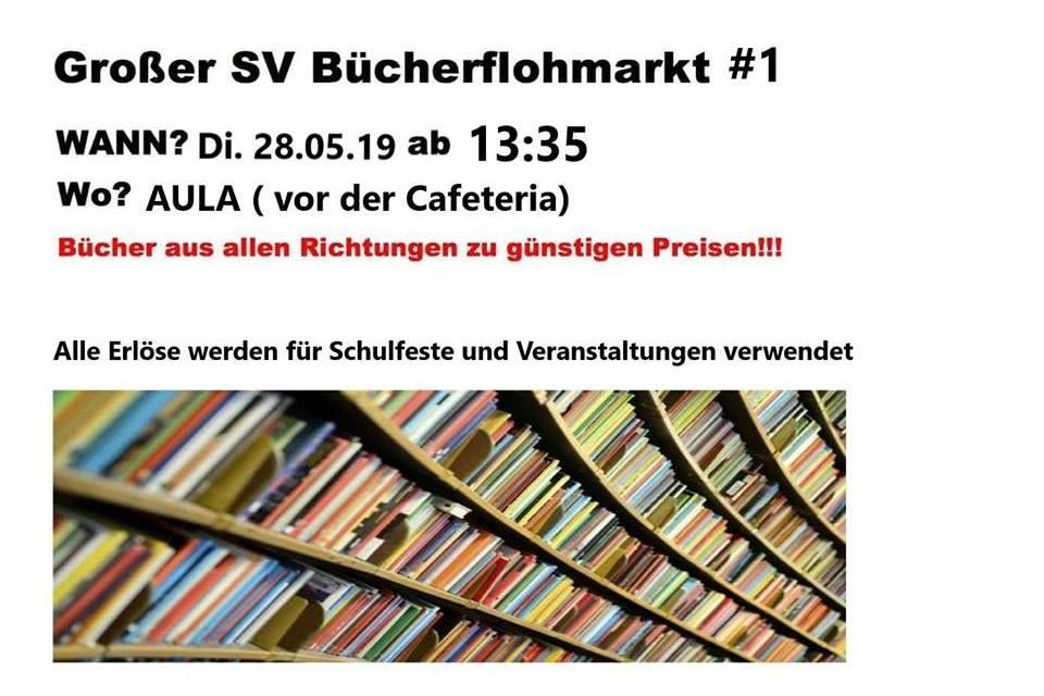 Großer Bücherflohmarkt der Studierendenvertretung