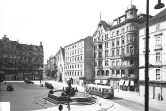 Blick zur Tegetthoffstraße | o.D. {ca. 1940}