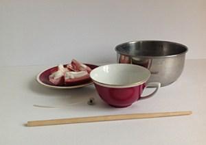 Anleitung für eine Tassenkerze