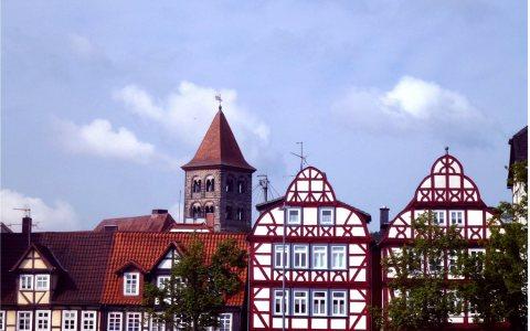 Fachwerkhäuser der Festspiel- und Kurstadt Bad Hersfeld