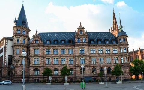 Stadtverwaltung: Nachrichten aus dem Rathaus Wiesbaden. Ralph Schüler, Bernhard Lorenz meinRad-Standorte, Stadtverordnetenversammlung ©2017-02 Volker Watschounek