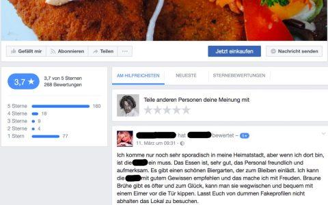 Modernes Onlinebeschwerdemanagement auf sozialen Median. Bild: Volker Watschounek / Facebook