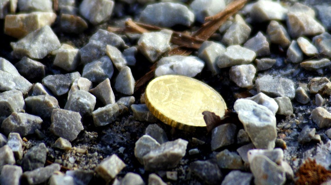 Wegen gefundenen zehn Cent müssen Sie nicht gleich zum Fundbüro. Bild: Günter Havlena / pixelio.de