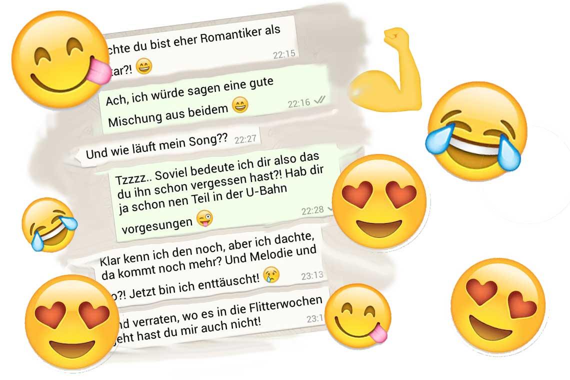 emojis zum flirten