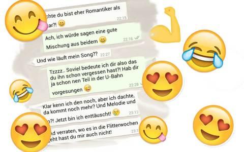 Online Flirten, aber richtig bitte. Bildkomposition: Wiesbaden lebt