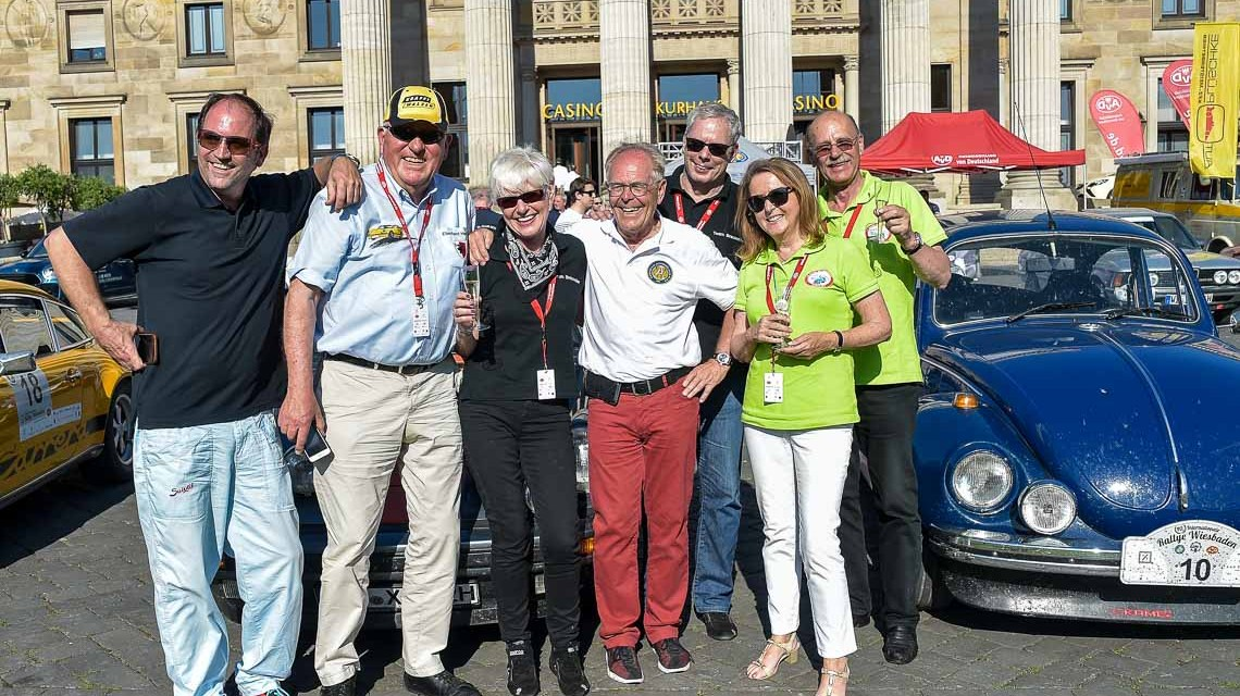Detlev und Heidy Brauweiler gewinnen die Rallye Wiesbaden