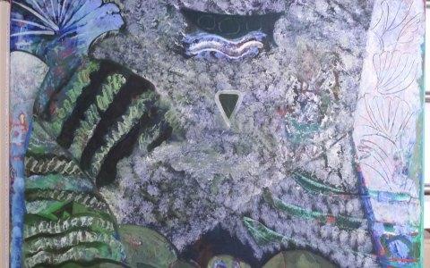 Artothek, Öl auf Leinwand von Robert Preyer. Bild: Kunsthaus
