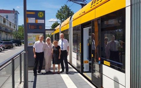 Andreas Kowol zu Besuch in Mianz. Bild: Stadt Wiesbaden