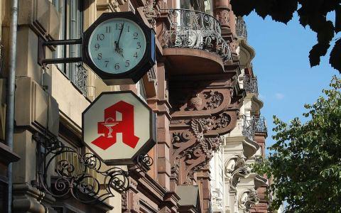 Taunusstraße in Wiesbaden. Foto: Rainer Niebergall