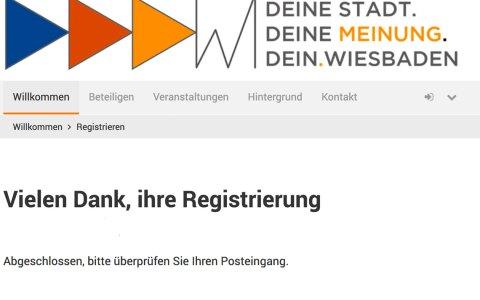 Bürgerbeteiligung in Wiesbaden leicht gemacht! Bild: Volker Watschounek