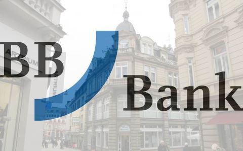Wiesbadener BB Bank in der Neugasse. Bild: BB Bank / Volker Watschounek