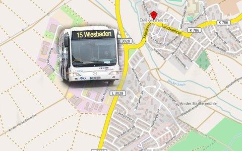 Umleitung von Buslinien und zahlreiche Ersatzhaltestellen zum Rathausplatzfestes, etwa der Linie 48. Bild: Open Street / Volker Watschounek