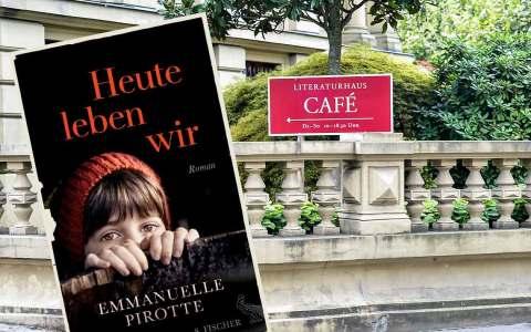 """Emmanuelle Proste stellt Ihren Roman """"Heute lieben wir"""" vor. Bild: Volker Watschounek"""