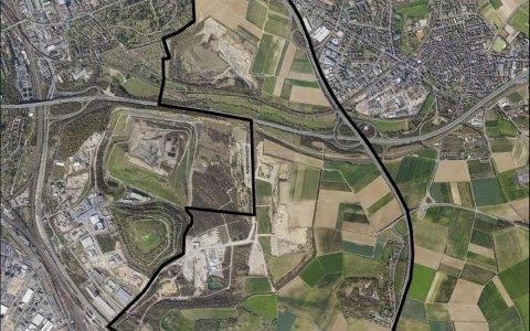 Ostfeld – Stadt entwickelt neuen Ortsteil. Bild: Stadt Wiesbaden