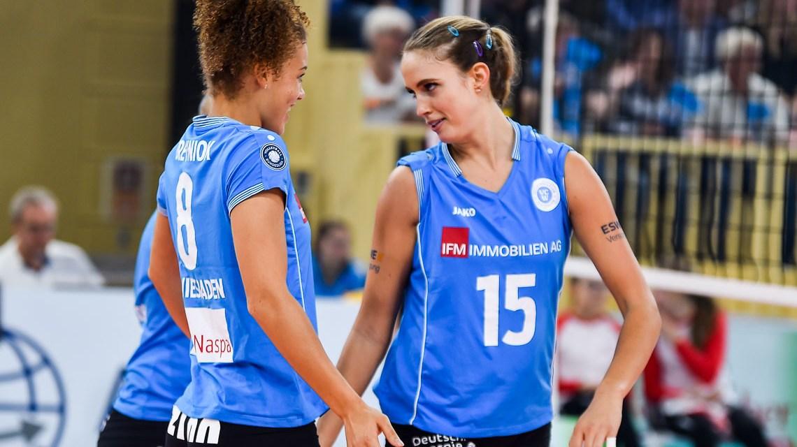 VC Wiesbaden schlägt Suhl zum Saisonauftakt