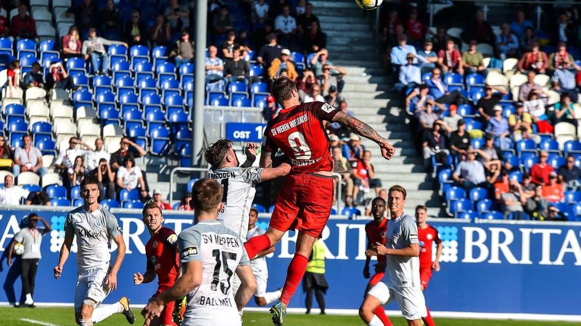 SV Wehen Wiesbaden verliert gegen SV Meppen 0:1