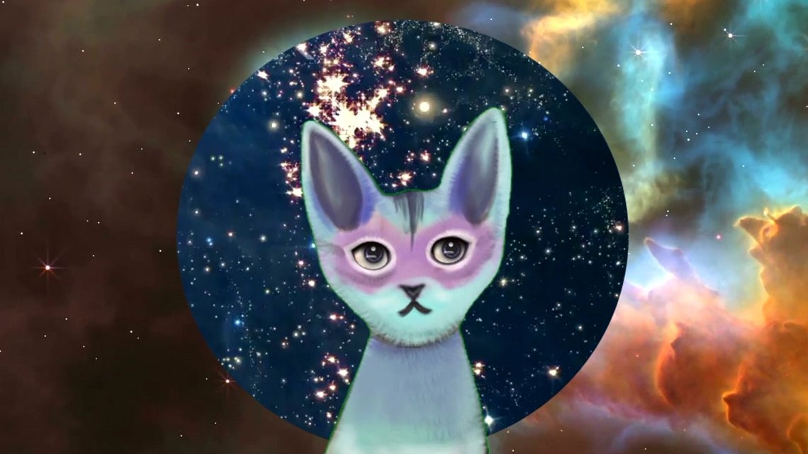 Videoinstallation The Kitty AI: Artificial Intelligence for Governance ©2017 Pinar Yoldas