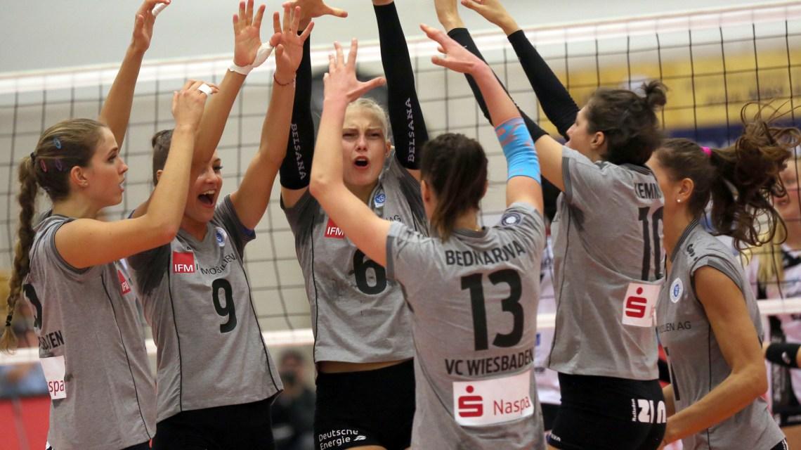 Archivbild: SW Erfurt - VC Wiesbaden 1. Volleyball-Bundesliga