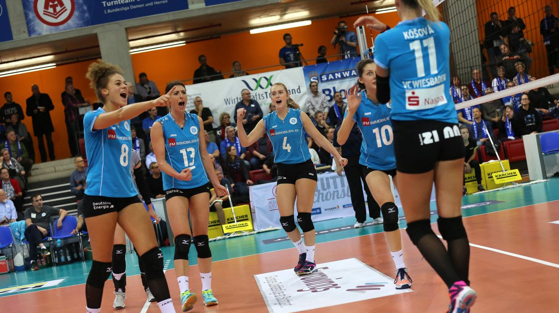 Sensation geglückt: VCW steht im Pokalfinale ©2017 Detlef Gottwald