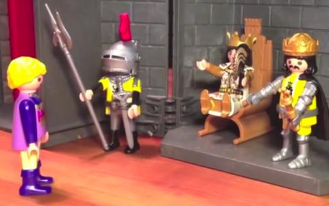 Der Ring der Niebelungen als Playmobil Show. ©2018 Youtube