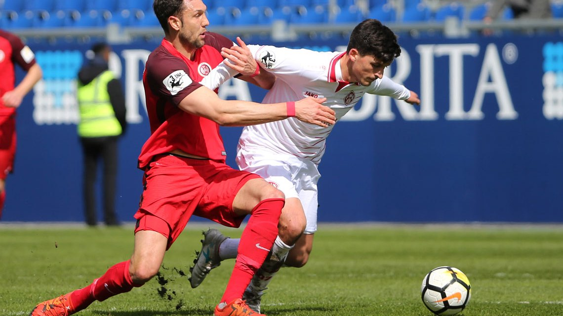 3. Liga: Würzburger Kickers stoppen Wiesbaden