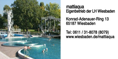 mattiaqua – Eigenbetrieb der LH Wiesbaden, Konrad-Adenauer-Ring 13, 65187 Wiesbaden