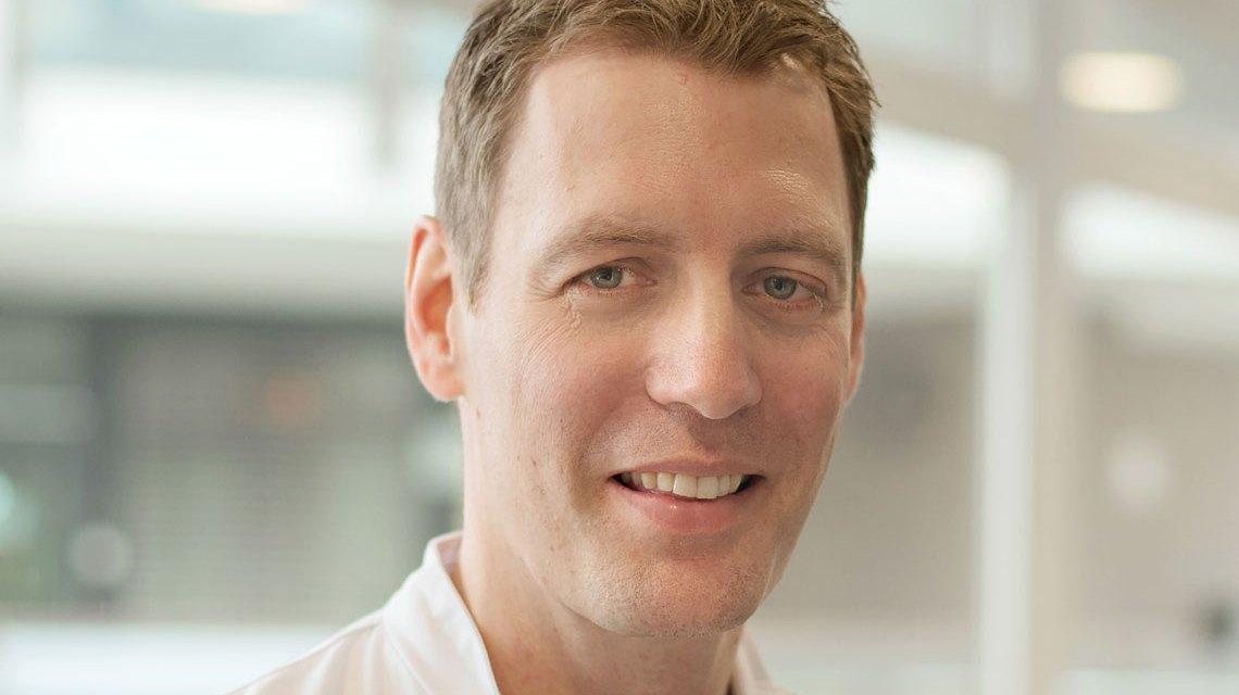 Prof. Dr. Sebastian Wutzler (40), seit dem 1. Januar 2018 neuer Direktor der HSK Kliniken.