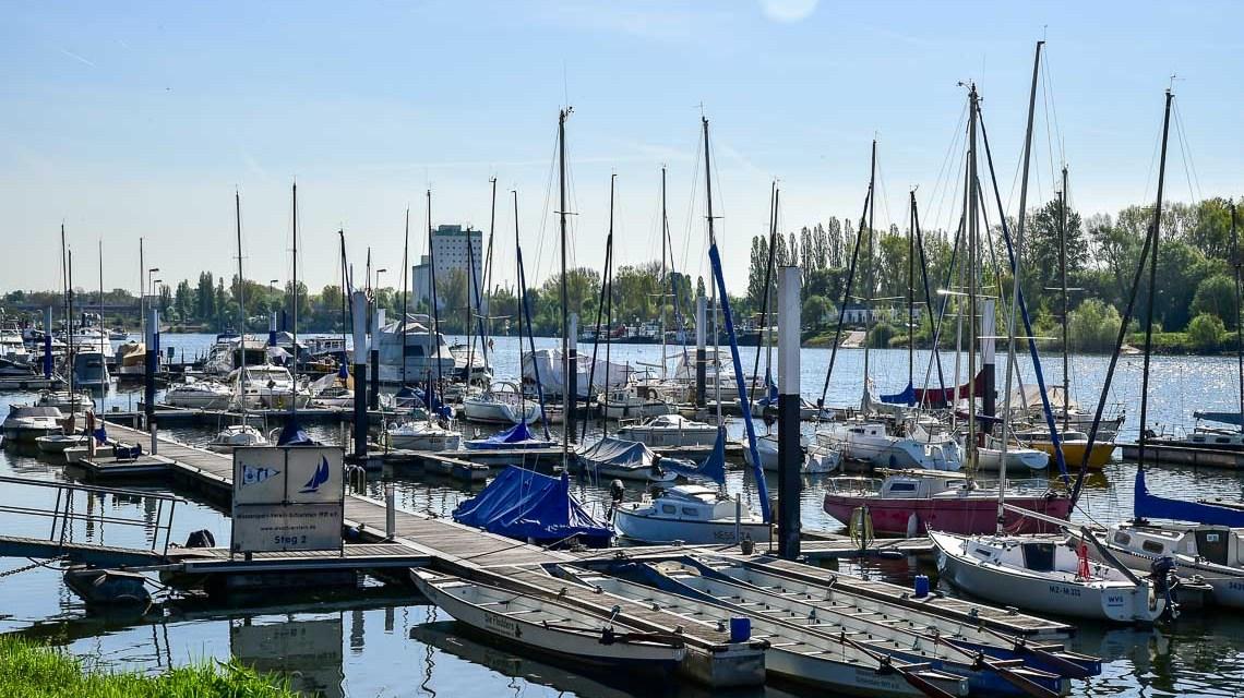 Der Schiersteiner Hafen wird immer attraktiver
