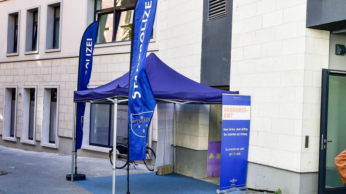 Wiesbadens Stadtpolizei ist jetzt in der Hochstättenstraße zuhause