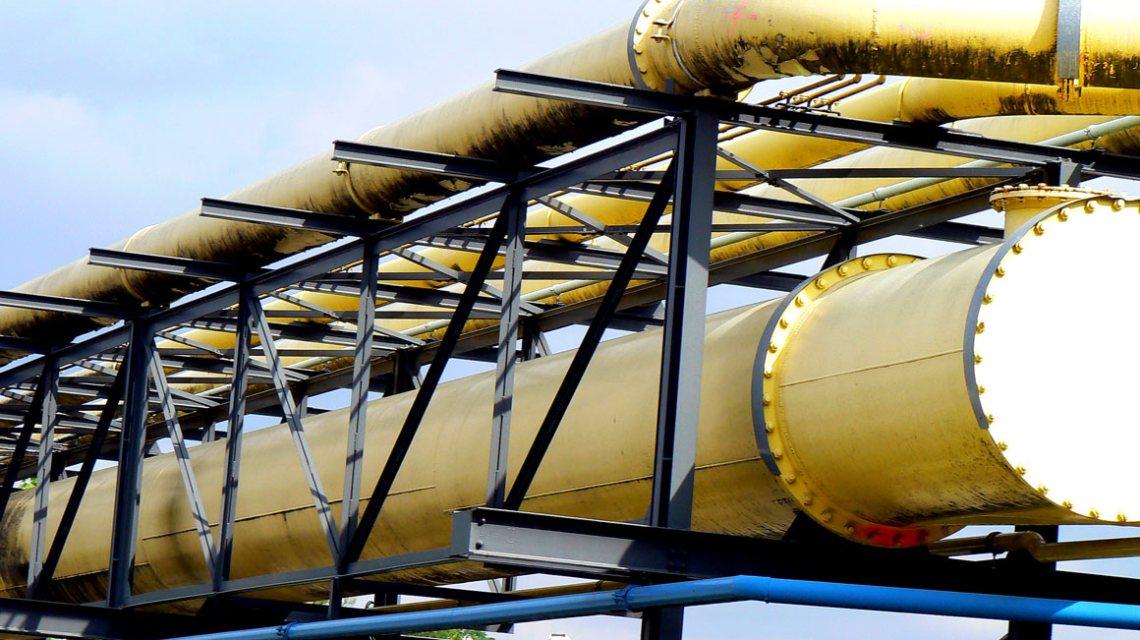Nicht ESWE, sondern andere Gasleitungen im stark industrialisierten Stuttgarter Stadtteil Gaisburg, östlich der Stadtmitte am Neckar gelegen. ©2018 Dirk Schäfer / Flickr / CC BY 2.0