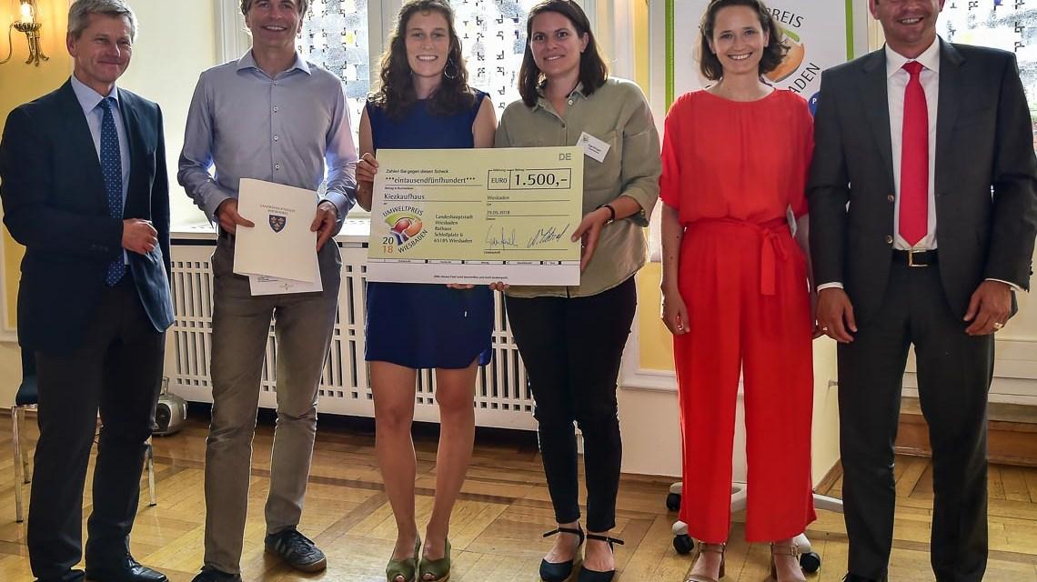 Wiesbadener Umweltpreis geht an Schüler und das Kiezkaufhaus