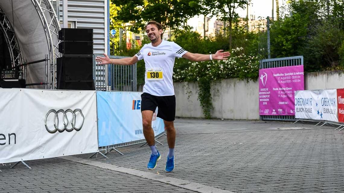 Simon Horn gewinnt den 1. Midsummer EnergyRun Wiesbaden